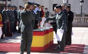 Losa destaca «el hondo sentido de la lealtad y del honor» de la Guardia Civil