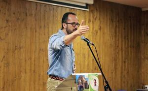 Ignacio Blanco se refiere al candidato del PSOE como «Barbón, el cobardón»