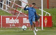 Mariño: «Este año sigo con la idea de continuar en el Sporting»
