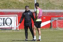 Entrenamiento del Sporting (13/05/2019)