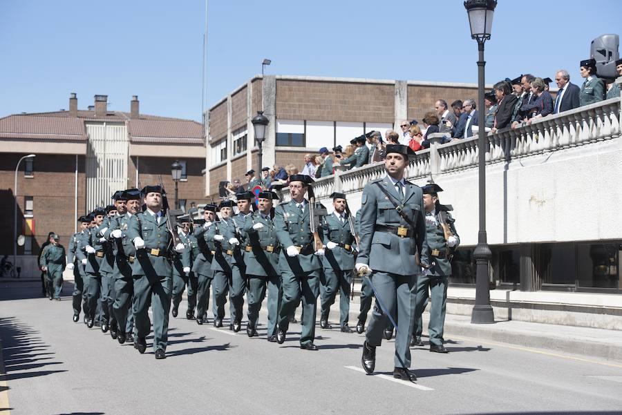 La Guardia Civil celebra en Oviedo sus 175 años de servicio a España