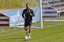 Entrenamiento del Sporting (14-05)