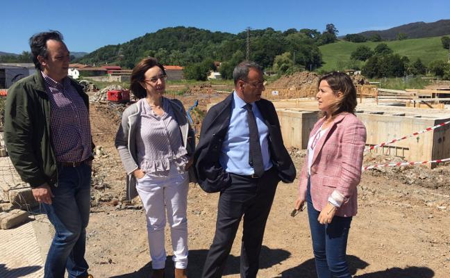 Infraestructuras terminará en septiembre los pozos de tormentas de Villaviciosa