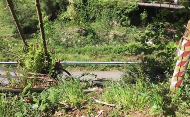 «No pusimos la valla donde cayó el ciclista por falta de dinero»