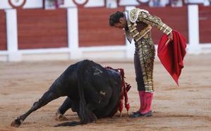 Rescatan al torero Antonio Ferrera tras caer al Guadiana