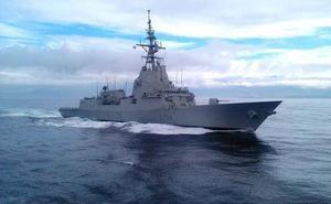 España retira la fragata 'Méndez Nuñez' del grupo de combate de EEUU en Oriente Próximo