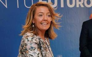 Teresa Mallada pide el voto a los empresarios para «volver a la senda del crecimiento»