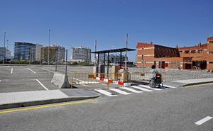 El aparcamiento de pago del Albergue Covadonga, a punto de entrar en servicio