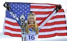 La laureada carrera de Lindsey Vonn como esquiadora