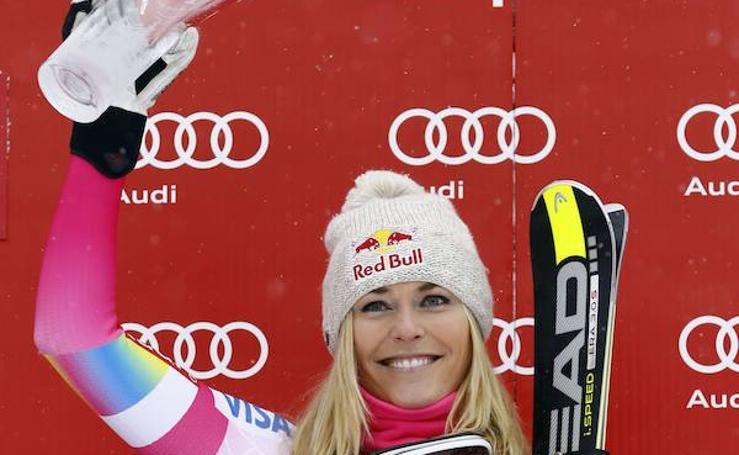 La esquiadora Lindsey Vonn, Premio Princesa de Asturias de los Deportes 2019