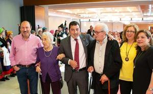 Más de setecientos jubilados de Llanera festejan San Isidro