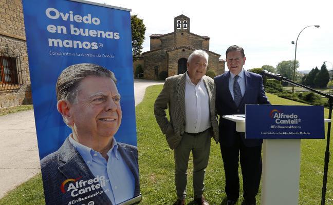 Canteli pedirá que la Universidad de Oviedo oferte el grado de Bellas Artes