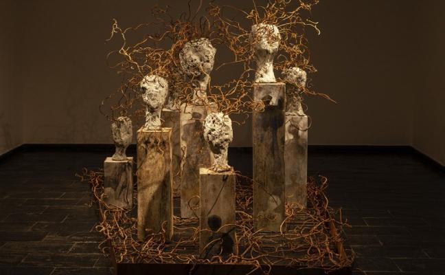 Carmen Castillo llega al Museo Antón con su obra 'Bosquejos'