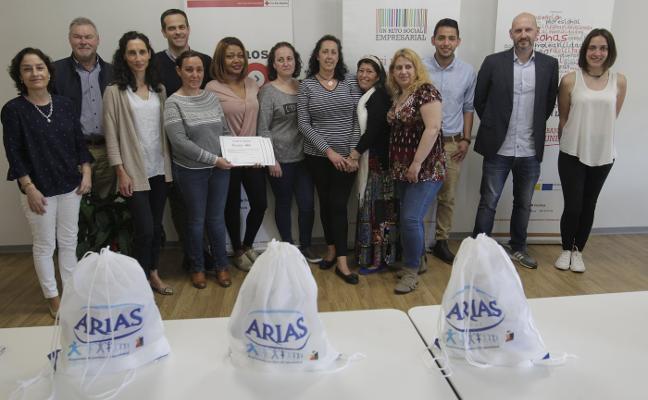 Cruz Roja y Mantequerías Arias forman personal de productos lácteos
