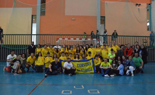 Pleno de podios del Handball en el Torneo Villa de Noja