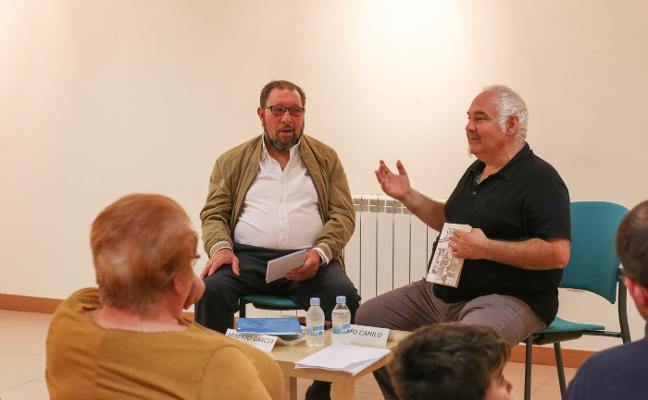 Presentación del nuevo libro de Arnesto García