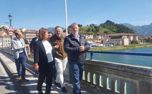 La licitación del puente, este año según el PSOE