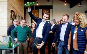 Casado alerta del riesgo de que Asturias quede en manos de una izquierda «cada vez más radical»