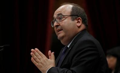 Los independentistas consuman el desafío a Sánchez y bloquean la designación de Iceta como senador