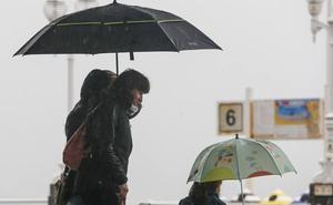 Las temperaturas se desploman en Asturias