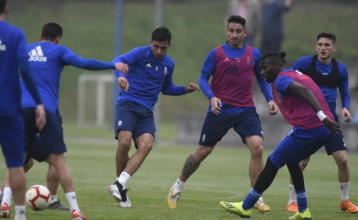 Entrenamiento del Real Oviedo (16-05-2019)