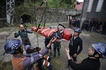 Así entrena la élite de rescate en Asturias
