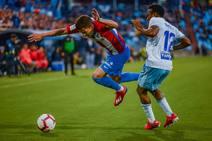 El Zaragoza-Sporting, en imágenes