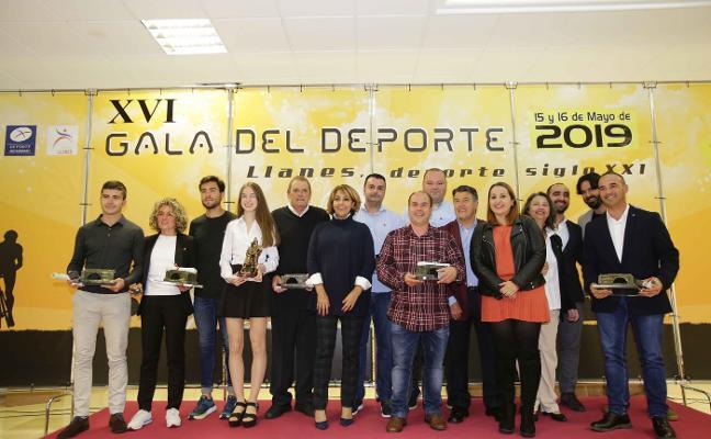 Llanes reparte premios a sus mejores deportistas de 2018