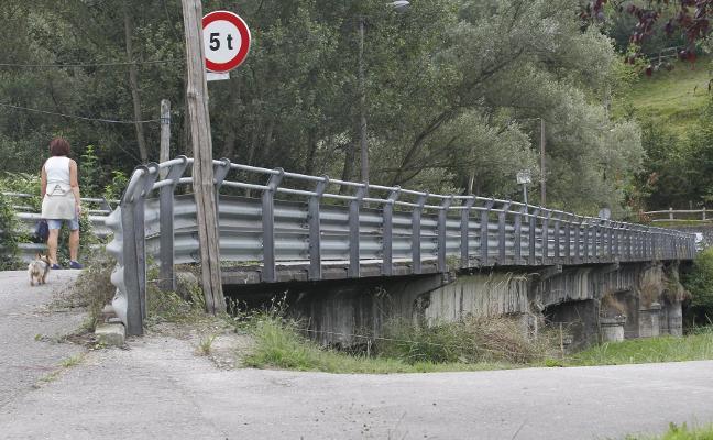 La reforma del puente de Olloniego logra 1,5 millones de fondos mineros