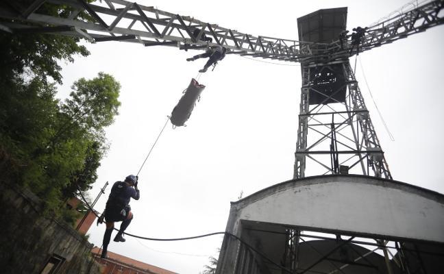 La mina, pilar para los rescatadores