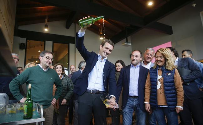 Casado alerta de una deriva «nacionalista y radical» en Asturias si gana la izquierda