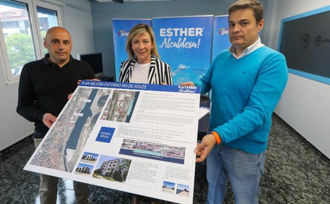 El PP propone mejorar los accesos a Avilés y abrir la ciudad al mar