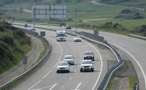 Cortes de tráfico en la autovía del Cantábrico desde este lunes