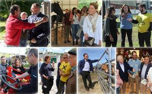 Elecciones autonómicas 26M: Los candidatos concentran su agenda en el área central de Asturias en la primera semana de campaña