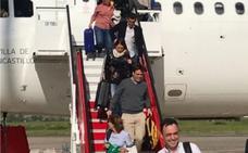 Diversos problemas técnicos obligan a desviar a Vitoria a un vuelo de Iberia con destino a Asturias