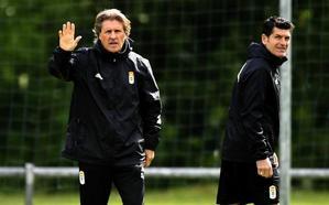 Real Oviedo | Egea: «Con 12 puntos en juego pueden pasar muchas cosas»
