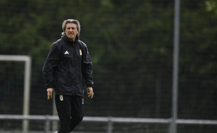 Entrenamiento del Real Oviedo (17-05-2019)