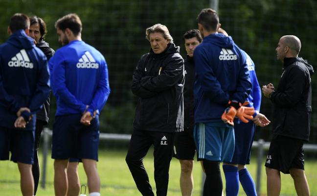 Real Oviedo | Egea: «Debemos lograr los 12 puntos»