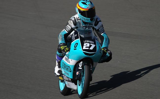 El Mundial Junior de Moto3 lleva al avilesino Álex Díez al mítico Le Mans