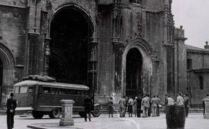 Cuando Franco montó la ruta turística de la guerra por Asturias