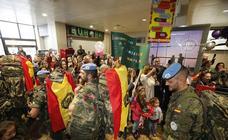 Los militares asturianos vuelven a casa
