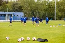 Entrenamiento del Real Oviedo (18/05/2019)