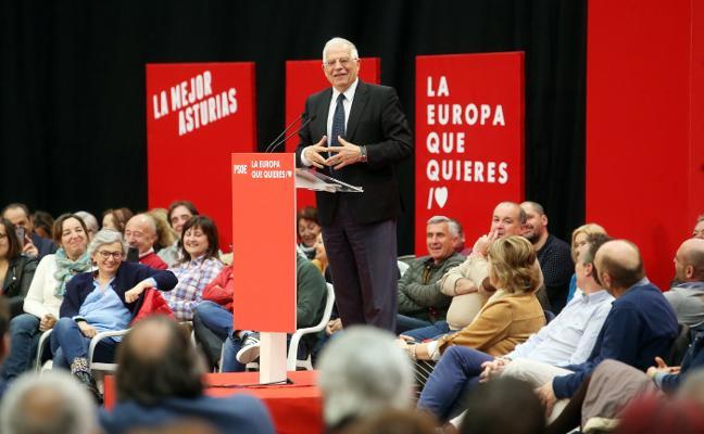 Borrell: «El problema de la transición energética es cómo repartir su coste»