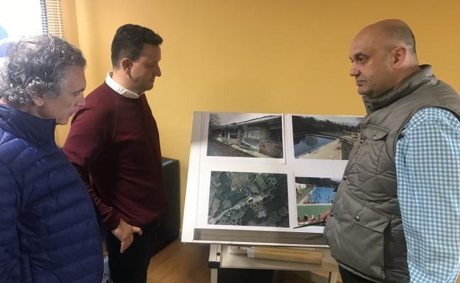 Foro Langreo presenta un proyecto para las piscinas de Pénjamo