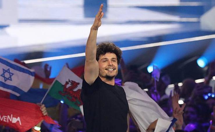 Las mejores imágenes de la gala de Eurovisión