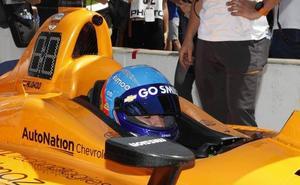 Fernando Alonso, fuera de las 500 millas de Indianápolis