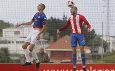 El Sporting B cae por la mínima ante el Amorebieta