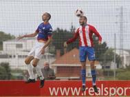 Sporting B 0-1 Amorebieta, en imágenes