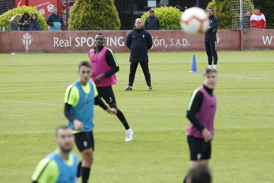 Entrenamiento del Sporting (19-05-2019)