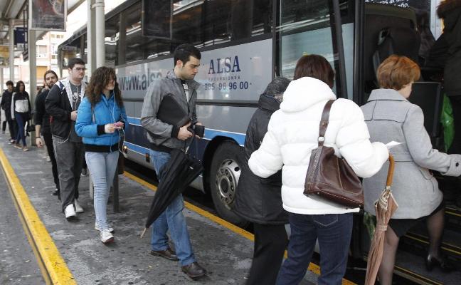 El billete de bus en Asturias será más barato en días polución a partir de 2021